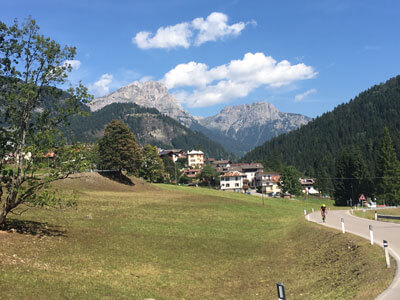 Dolomites road cycle